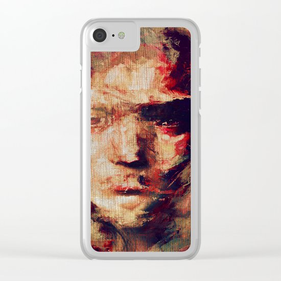 Dreams Darkness Clear iPhone Case