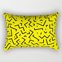 Memphis pattern 35 Rectangular Pillow