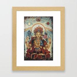 Chenrezig  Framed Art Print