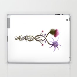 Scottish Thistle and Italian Cardo Laptop & iPad Skin
