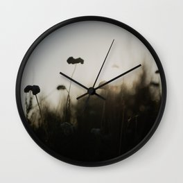 silhouetted ... Wall Clock