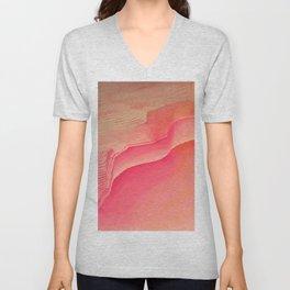 Pink Navel Unisex V-Neck