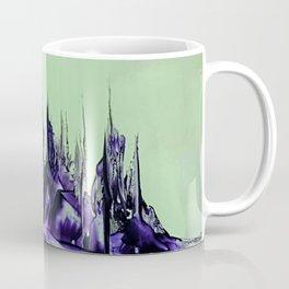 Purple alienscape Coffee Mug