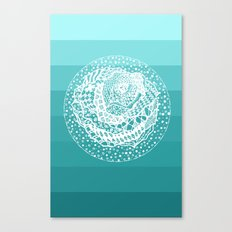 Flying Rose Canvas Print