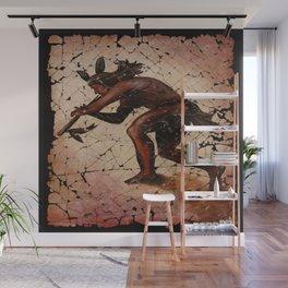 Kokopelli, The Flute Player Fresco Wall Art Wall Mural