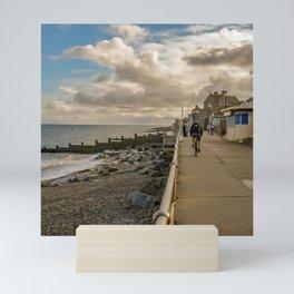 Sheringham promenade Mini Art Print