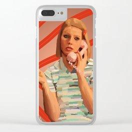Margot Tenenbaums Clear iPhone Case