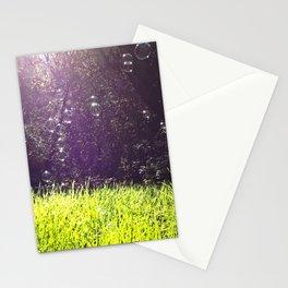 Sunshine Bubbles Stationery Cards