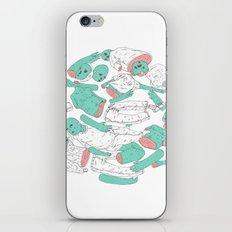 extraterrestrial ball iPhone & iPod Skin