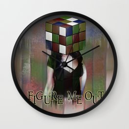Figure me out FV Wall Clock