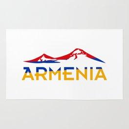 Armenia Ararat Hayastan flag #society6 #decor #buyart #artprint Rug