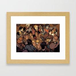 At the Hanged Man Framed Art Print