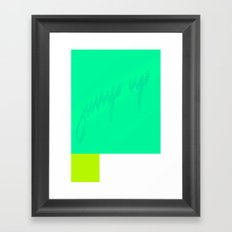 jump up Framed Art Print