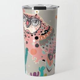 A Dreamy owl Travel Mug