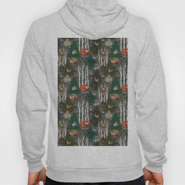 Sleepy Scandinavian Forest Hoody