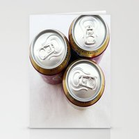 beer Stationery Cards featuring Beer  by Steve P Outram