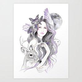 Soul Moon Art Print