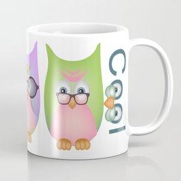 Too Cool Owls Coffee Mug