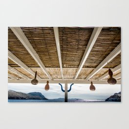 new ceiling in the living room Canvas Print