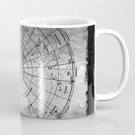 Old Metal Northern Constellation Map Coffee Mug