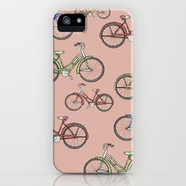 Leisure Bike Ride iPhone Case