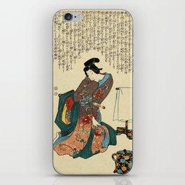 Utagawa Kunisada - Ueshima Monya iPhone Skin