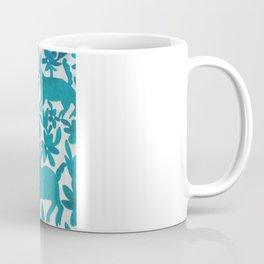 Otomi Cyan Coffee Mug