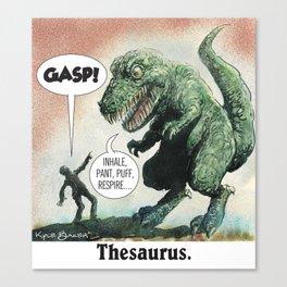 Thesaurus Canvas Print