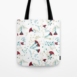 Egyptian Papyrus Flowers Tote Bag