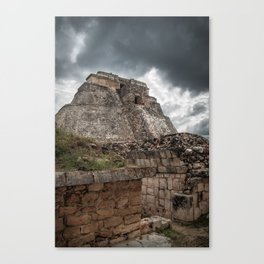 The Pyramid of the Magician Canvas Print