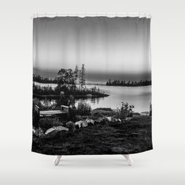 A Little Bit of Lake Superior Shower Curtain