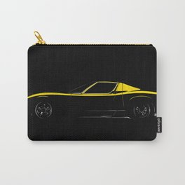 Classic Italian Supercar 1972 Carry-All Pouch