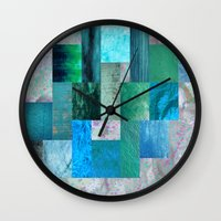 blues Wall Clocks featuring blues by Last Call