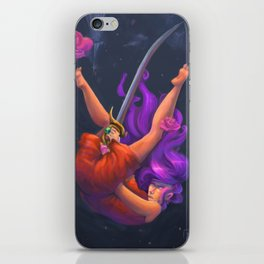 Rose Bride iPhone Skin