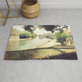 Seine, Paris Rug