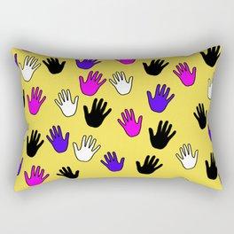 Helping Hands Rectangular Pillow