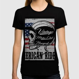 American Classic Motorcycle T-shirt