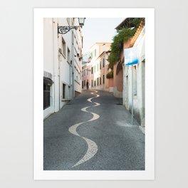 Rua da Saudade Art Print