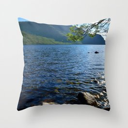 ennerdale lake Throw Pillow