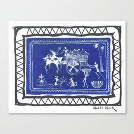 The Chariot (Mukta Naik) Canvas Print