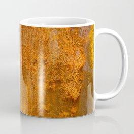 Abstract Rust Wall Coffee Mug