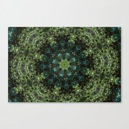 """Forest Guardians"" Mandala Canvas Print"