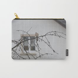bird in the rain Carry-All Pouch