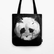 Crouching Panda Hidden Somewhere Tote Bag