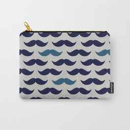 MUSTACHE PATTERN Carry-All Pouch