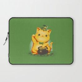 Irish Lucky Cat Laptop Sleeve