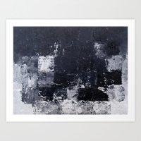 "skyline Art Prints featuring ""Skyline"" by Prima Haven"