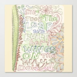 Wings2 Canvas Print