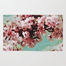 Springblossom - photography Rug