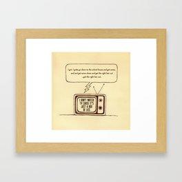 indy kidz Framed Art Print
